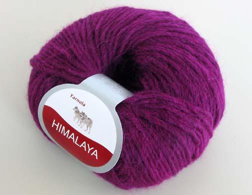 Yarnela Himalaya Alpaca Yarn Violet Purple
